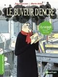Le buveur d'encre de Eric Sanvoisin et Martin Matje - Edition dyslexique