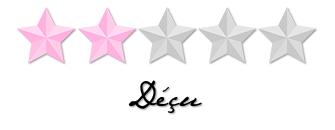 note 2 étoiles