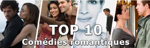 TOP 10 - comédies romantiques
