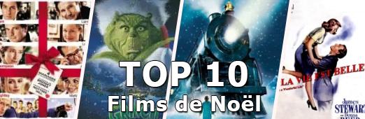 TOP 10 - films noel