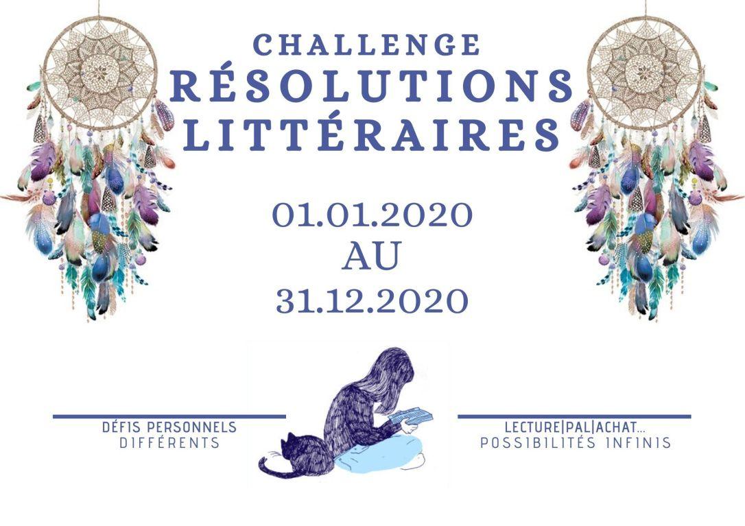 Challenge Résolutions Littéraires [01.01.20 - 31.12.20]