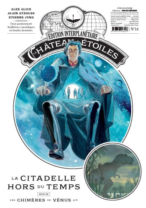 Le château des étoiles (revues), tome 14 : La citadelle hors du temps de Alex Alice, Alain Ayroles et Étienne Jung