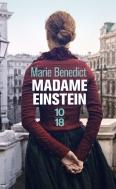 Madame Einstein de Marie Benedict