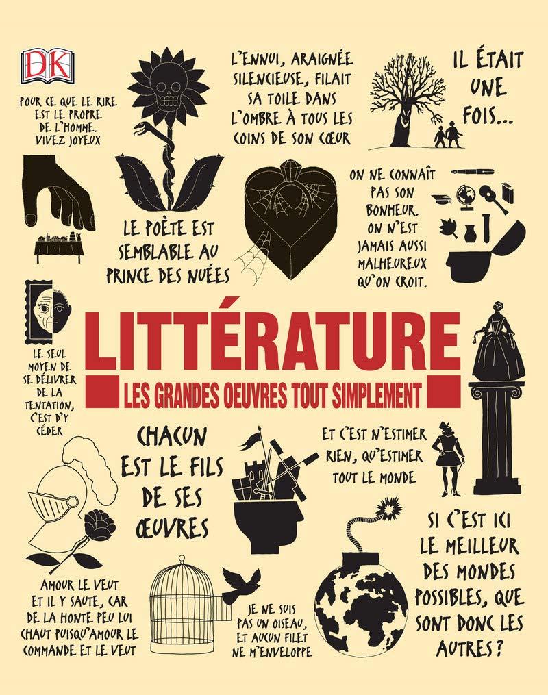 Littérature : Les grandes oeuvres tout simplement de Collectif