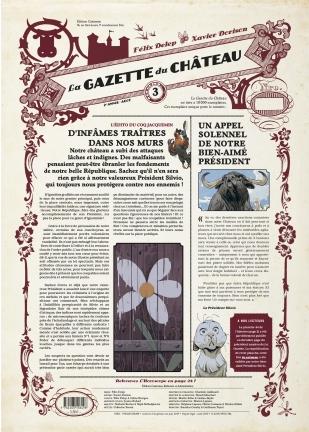 La Gazette du Château, tome 3 de Xavier Dorison et Félix Delep