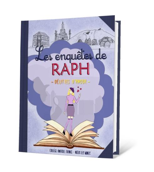 Livre 3D - Les enquêtes de Raph