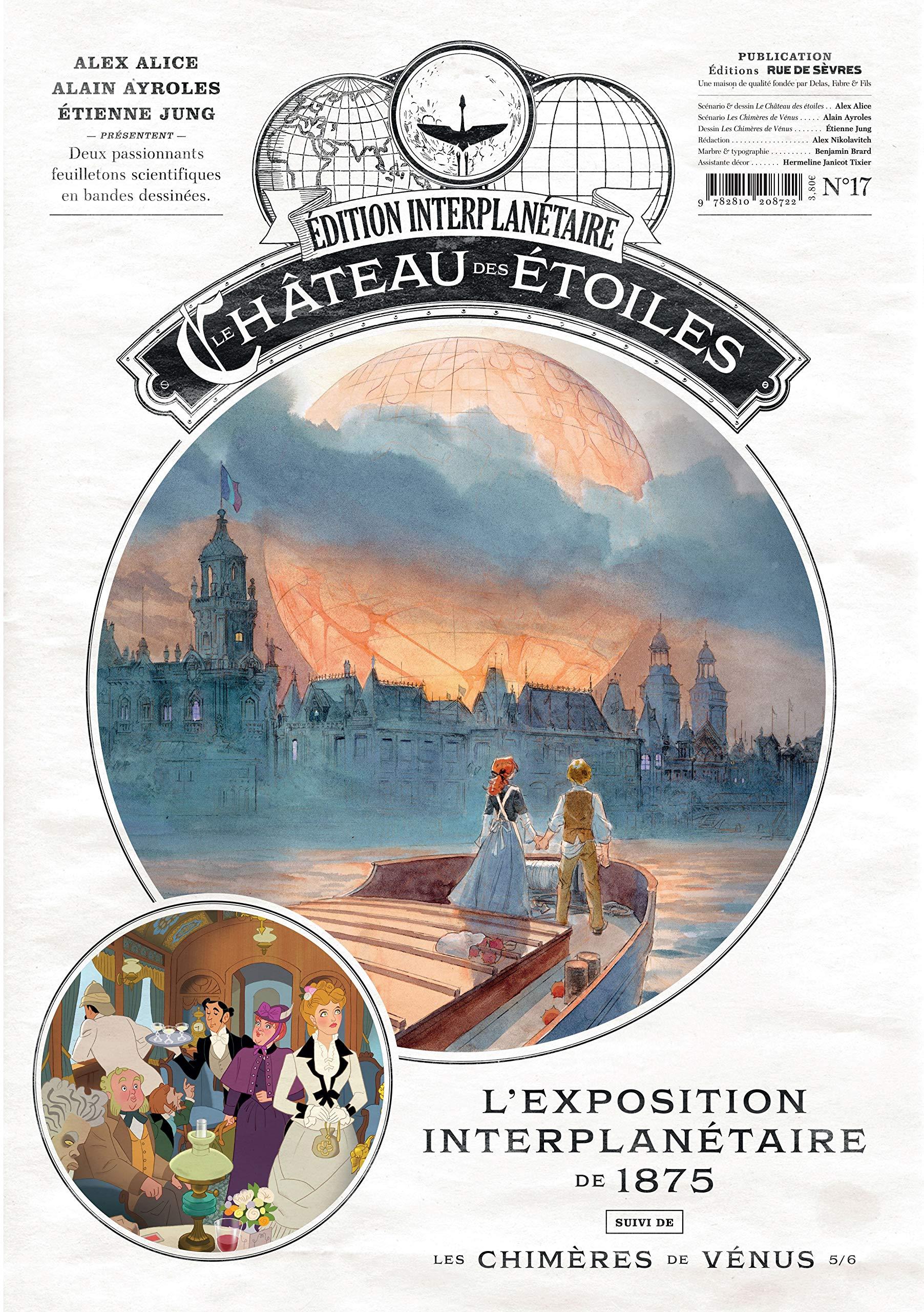 Le château des étoiles (revues), tome 17 : L'Exposition Interplanétaire de 1875 de Alex Alice, Alain Ayroles et Étienne Jung