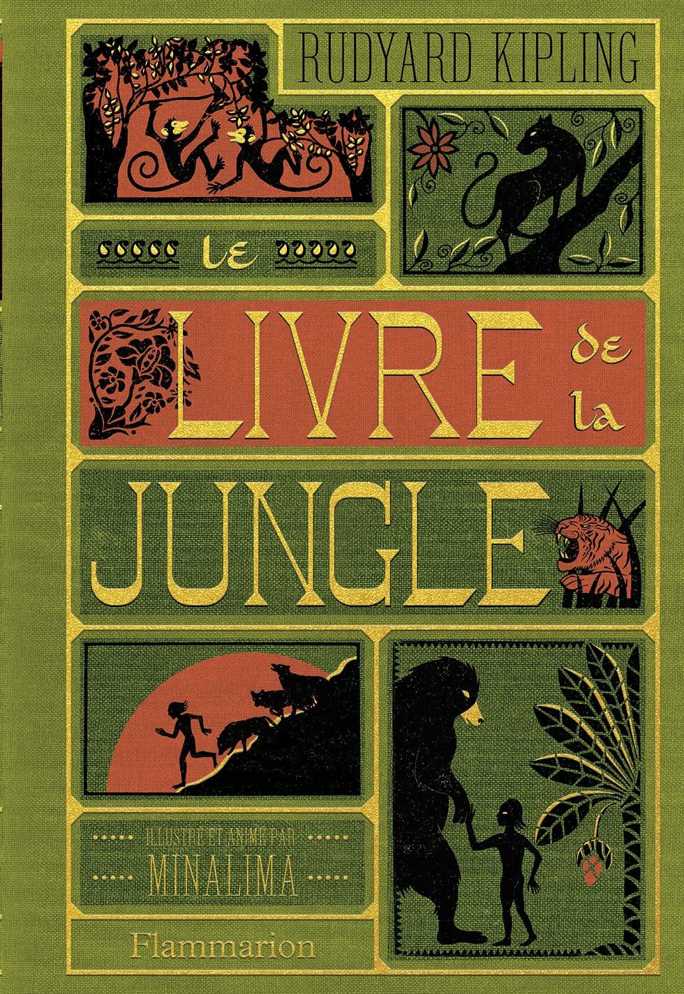 Le Livre de la Jungle, illustré (MinaLima) de Rudyard Kipling et MinaLima