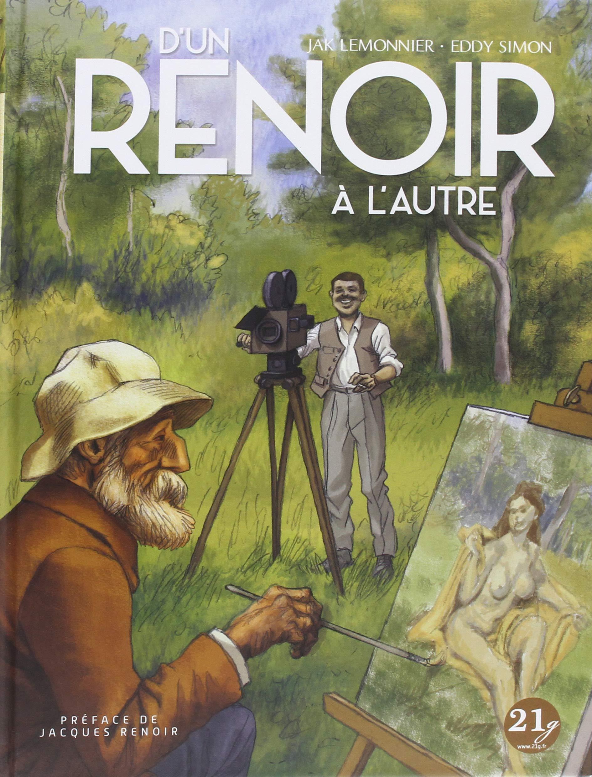 D'un Renoir à l'autre de Jak Lemonnier et Eddy Simon